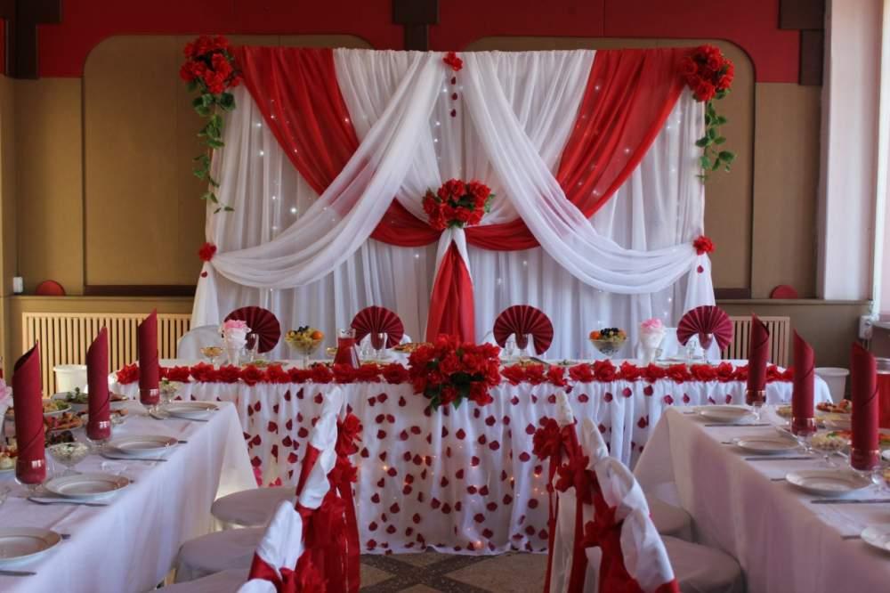 Оформление свадебного зала минск цены